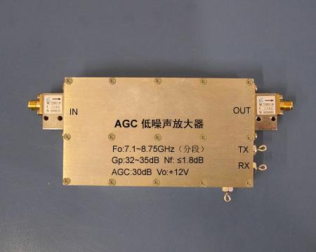 8GHz AGC低噪声放大器