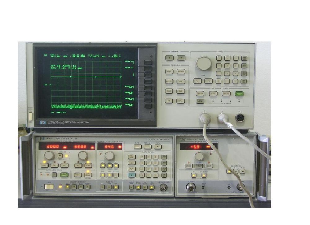 网络分析仪,扫描振荡器