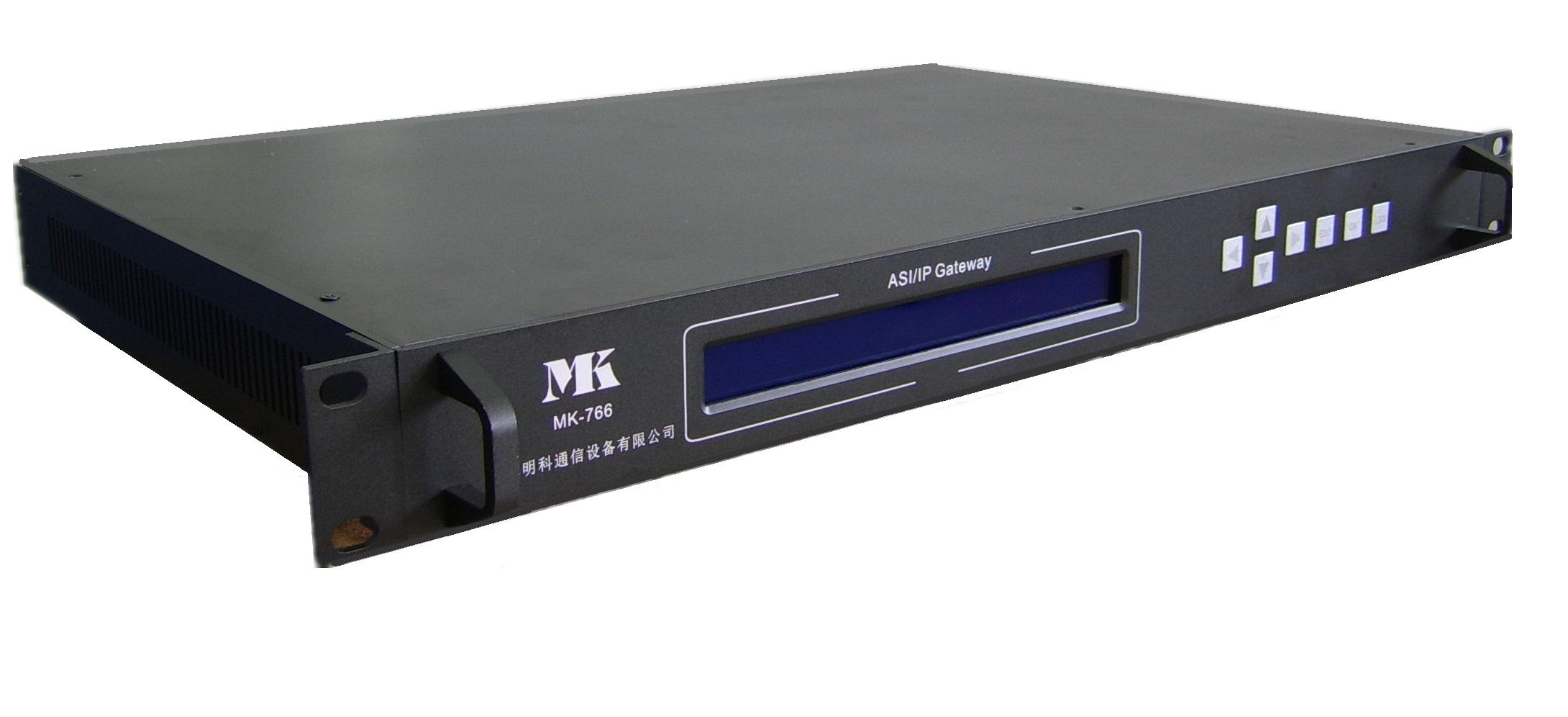 MK766 双向六路ASI/IP网关